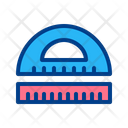 Rulers Education Study Icon