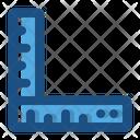 Rulers Math Measurement Icon