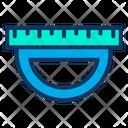Geometry Ruler Design Tool Designing Ruler Icon