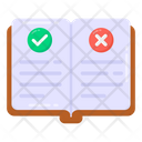 Rules Guidebook Rules Book Regulations Book Icon
