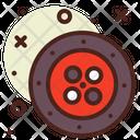 Rulette Casino Game Icon