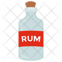 Rum Rum Bottle Wine Bottle Icon