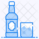Rum Champagne Alcohol Icon