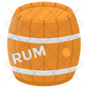 Rum Barrel Icon