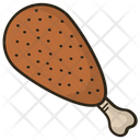 Chicken Leg Chicken Chicken Piece Icon