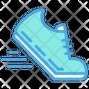 Run Running Shoe Sport Icon
