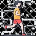 Run Runner Sportsman Icon