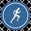Run Label Runner Icon