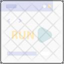 Run Website Up Icon