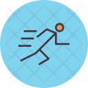 Run Running Race Icon