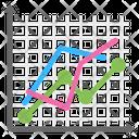 Run Chart Sequence Plot Graph Icon