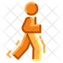 Fitness Runner Sport Icon