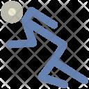 Runner Racer Sportsman Icon