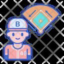 Runner Player Baseball Icon