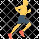 Runner Athlete Jogging Icon