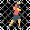 Runner Racer Walking Icon