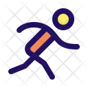 Run Fast Runner Icon