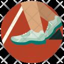 Runner Athlete Race Icon