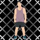 Player Athlete Sportsman Icon