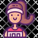 Runner Female Icon