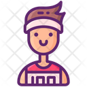 Runner Male Icon
