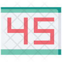 Runner Number Icon
