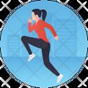 Running Jogging Runner Icon