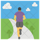Running Jogging Running Race Icon