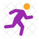 Exercise Fitness Jogging Icon