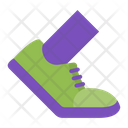 Footwear Shoes Sneakers Icon