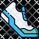 Running Running Shoes Runninng Boots Icon