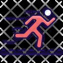 Runner Running Jogging Icon