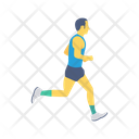 Running Jogging Exercise Icon