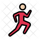 Running Race Exercise Icon