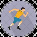 Running Run Man Icon