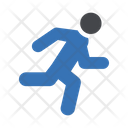 Running Exercise Hobby Icon