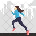 Run City Jogging Icon
