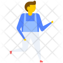 Student Hurry Running Icon
