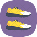 Running Symbol Shoe Icon