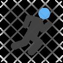 Running Human Activity Icon