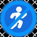 Running Ban Icon