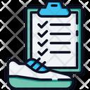 Running Plan Icon