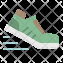Running Shoe Footwear Icon