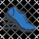 Run Shoe Exercise Icon