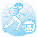 Running Speed Icon