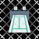 Running Track Machine Track Icon