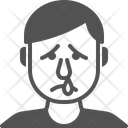 Runny Nose Man Icon