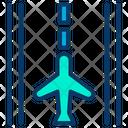 Flight Runway Airport Runway Road Icon