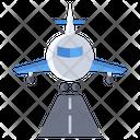 Runway Airplane Runway Aviation Icon