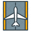 Runway Airplane Plane Icon
